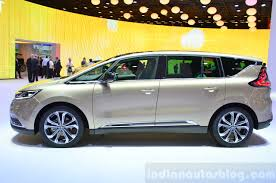 renault paris 2015 renault espace side at the 2014 paris motor show indian