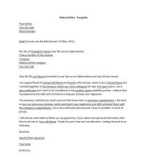referral cover letter samples referral cover letter examples for