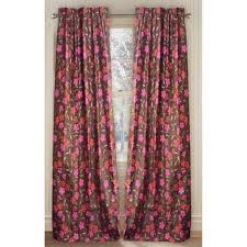 Large Floral Print Curtains Pinch Pleat Curtains U0026 Drapes Shop The Best Deals For Dec 2017