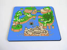 map pad mario map mousepad