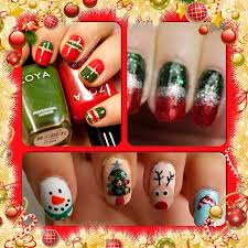 90 best christmas nails images on pinterest holiday nails