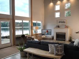 Waterfront Home Designs Modern Waterfront Home Indoor Outdoor Liv Vrbo