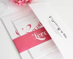 pink wedding invitations pink wedding invitations with large names wedding invitations