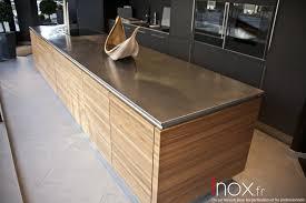 ilot cuisine sur mesure inox fr tous les éléments de cuisine
