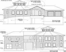 building drawing plan elevation floor plan elevation section