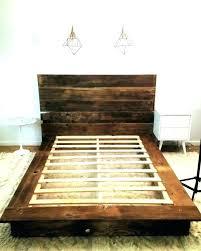 Black Wooden Bed Frames Distressed Wood Bed Frame Bosssecurity Me