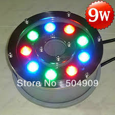 led fountain lights underwater warm white 12w high power led fountain swimming pool pond lake tank