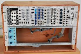Box Audio Rack Matrixsynth Eurorack Modular Analogue Synthesizer In Chateaux