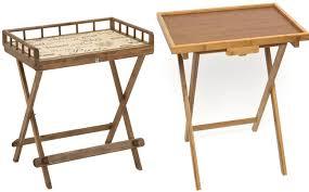 Folding Tray Table Set Marvellous Folding Tv Tray Table Yu Shan 5 Piece Tray Table Set In