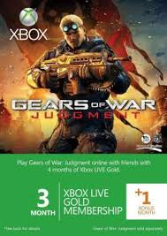 3 month gold membership card xbox live 1 month free