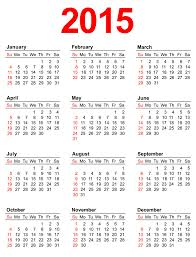 4 best images of 2015 yearly calendar template 2015 calendar