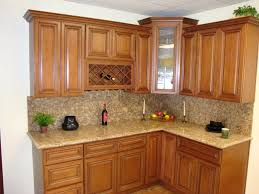 white glaze galley kitchen cabinet with rectangle island having