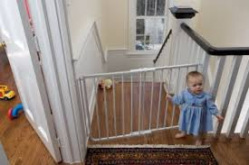 Baby Gates For Bottom Of Stairs With Banister Best Infant U0026 Baby Safety Gates For Top And Bottom Of Stairs A
