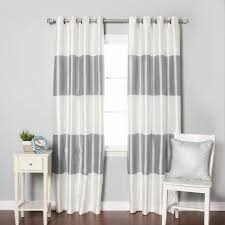 White And Navy Curtains Curtain White And Navy Curtains Window Geometric Shower Blackout