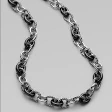large link necklace images David yurman jewelry oval large link necklace poshmark jpg