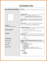 resume format for fresher cv format pdf for freshers letter format business