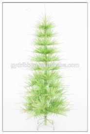 slim artificial christmas trees snow needle pine christmas tree