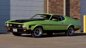lime green bentley 1971 ford mustang boss 351 fastback f158 indy 2016