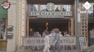 restaurant road trip big city vibe at elm city social youtube
