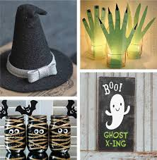 Easy Halloween Craft Projects - easy halloween crafts for adults kids u0026 preschool crafts
