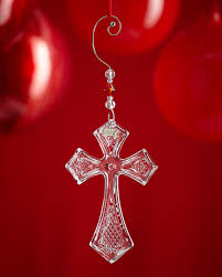 waterford crystal 2016 annual cross christmas ornament neiman marcus