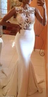 Designer Wedding Dresses Online Brides Show Their Knock Off Wedding Dresses That Look Nothing Like