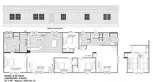 4 bedroom floor plan b 6015 hawks homes manufactured