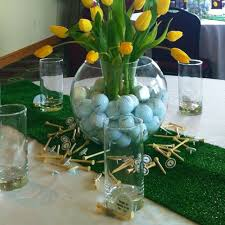 graduation golf theme party centerpiece party ideas pinterest