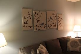 decor diy canvas artwork for wall decoration ideas and interior