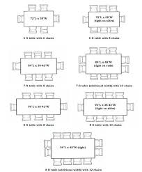Dining Table Standard Size Fiorentinoscucinacom - Kitchen table sizes