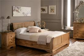 Oak Sleigh Bed An Extremely Bed Is High Priority In The House