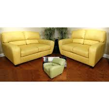 butter yellow leather sofa yellow loveseat chateau designer leather sofa yellow two seat couch