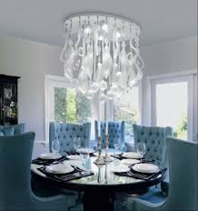 cool dining room light fixtures with small round table for small
