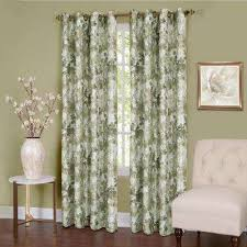 Tree Curtain Green Curtains U0026 Drapes Window Treatments The Home Depot