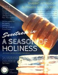 Womens Holidays by Sweetness In A Season Of Holiness An Agam Center Women U0027s