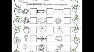 winter quarter 2 kindergarten homework packet youtube
