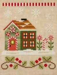 Country Cottage Needlework by Country Cottage Needlework Santa U0027s Village Pattern Bundle