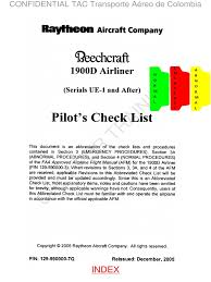 b1900d check lists pro lite vr1 1