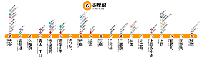 Tokyo Metro Route Map by Tokyo Metro Ginza Line Wikiwand