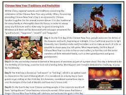 chinese new year reading comprehension worksheets by mariapht