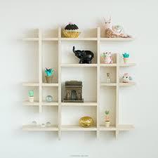 wood wall display shelf
