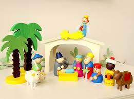 wooden nativity set nativity set