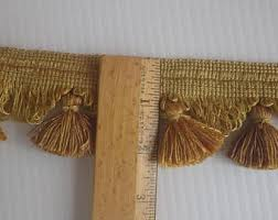 Gold Curtain Tassels Curtain Tassels Etsy