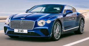 bentley coupe blue 2018 bentley continental gt unveiled u2013 lighter faster