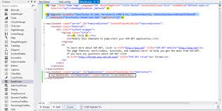 templates for asp net web pages getting started for syncfusion essential asp net