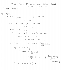 profit loss discount and vat rd sharma class 8 solutions