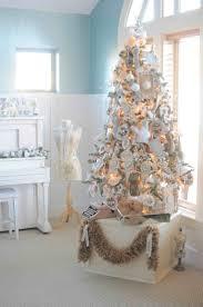 poinsettia fiber optic tree lights decoration