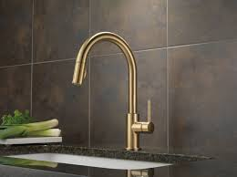 delta kitchen faucets bronze trinsic kitchen collection faucets pot fillers and within delta