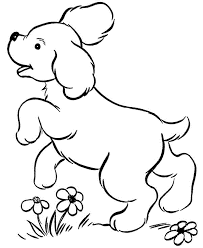 kidscolouringpages orgprint u0026 download realistic dog coloring