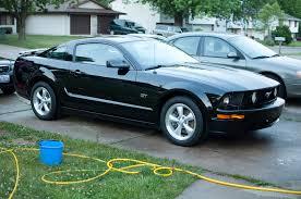 2008 Black Mustang Gt 2008 Mustang Gt Matte Black Stripes 6 Mark Garety Flickr